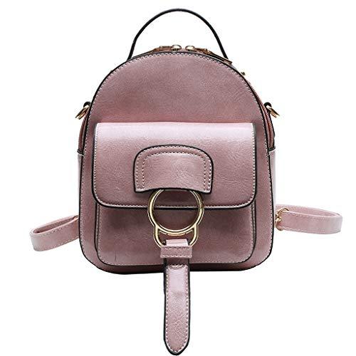 Mitlfuny handbemalte Ledertasche, Schultertasche, Geschenk, Handgefertigte Tasche,Frauen Farbabstimmung Wild Fashion Freizeit Reisetasche Student Bag Rucksack