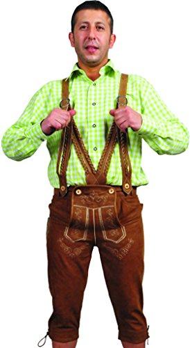 LederGwand -  Lederhosen  - uomo Brown