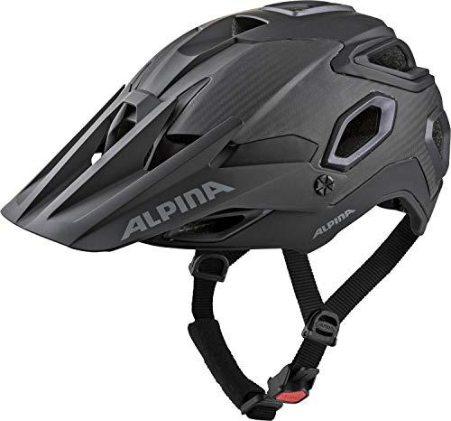Alpina Unisex– Erwachsene ROOTAGE Fahrradhelm, Black, 57-62 cm