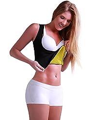 Rebeca Shop - Camiseta adelgazante Cami Hot, para mujer, camiseta reductora, Sauna Instant Training, X-Large