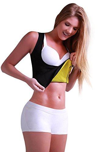 Tank Top enganliegend Cami Hot Schlankheitskur für Damen Instant-Sauna Training