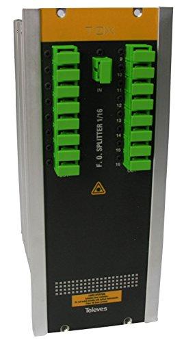 TELEVES 234501 - REPARTIDOR OPTICO SC/APC 16D 14DB 1310/1550MM