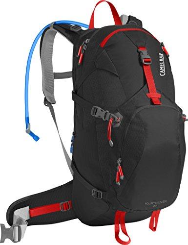 Camelbak Products LLC Fourteener 24 Hydration Pack Trinkrucksack, Black/Fiery Red, 100 oz