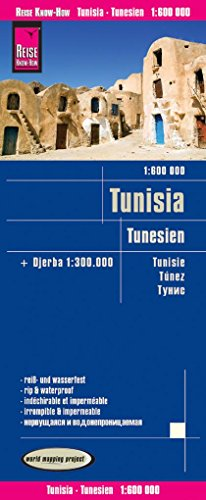 Tunisia 2018 par Reise Know-How Verlag