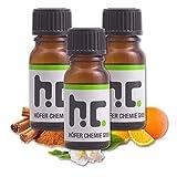 Höfer Chemie Duft Set 3 - mit 4 Düften - Zitrone, Orange, Jasmin, Zimt