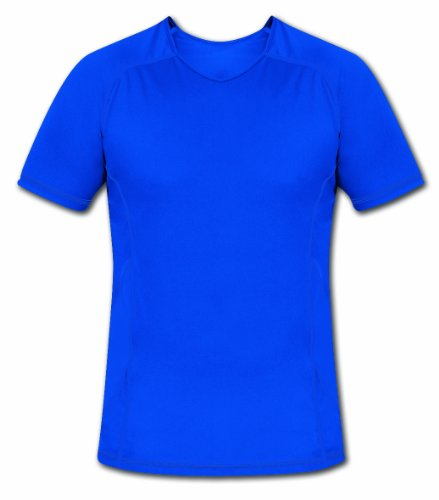 Páramo Men's Baselayer Cambia Sport Short Sleeve T 2XL Blau - Blau (Sleeve Layer-crew Short Tee)