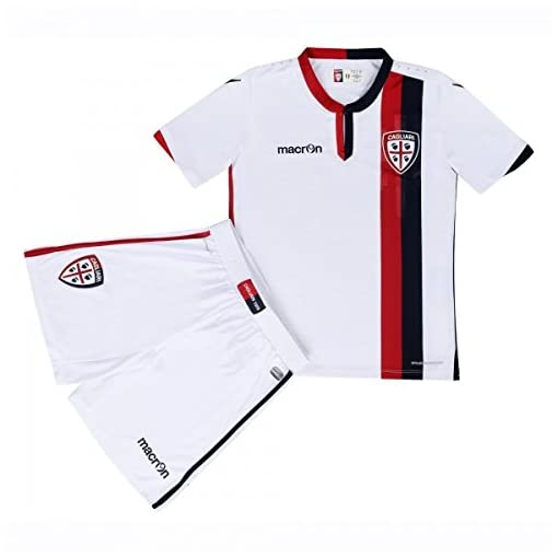 Macron Set Junior Cagliari Completino Gara Kit Calcio Away 58089666 LAq543Rj