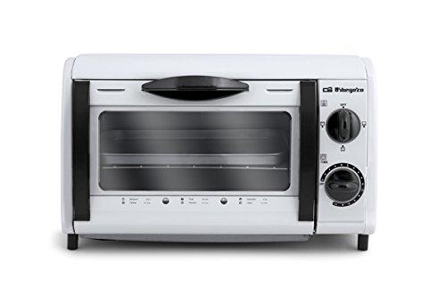 Foto de Orbegozo HO 800 A - Mini horno tostador, capacidad de 8l, potencia 800 W, temporizador, recogemigas, color blanco