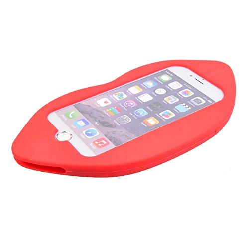 """COOLKE Mode 3D Style Cartoon Gel Soft silicone Coque Housse étui Case Cover Pour Apple iPhone 6s Plus / 6 Plus (5.5"""") - 012 008"""