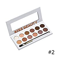 Kiss Beauty KBSHADOW 12 Colors Eyeshadow Palette (87041-02)