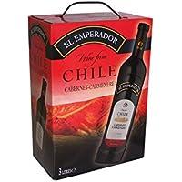 BIB EL EMPERADOR Cabernet Carmenere Vin Rouge du Chili 3 L