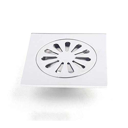 X&L Impianto idraulico metallo rame ispessimento cintura fibbie deodorante bagno montaggio rondella scarico scarico , 100*100mm