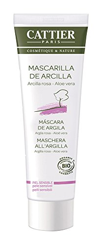 Cattier Maschera in Tubo all'Argilla Rosa e Aloe Vera - 100 ml