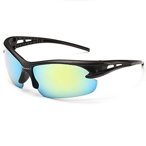 Z-P Men's Outdoor Sports Style Cycling Cool Color Coating Anti-explosion Sunglasses 70MM