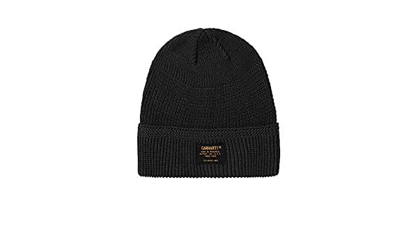 406eebdbeeb Carhartt Truman Beanie in Black One Size  Amazon.co.uk  Clothing