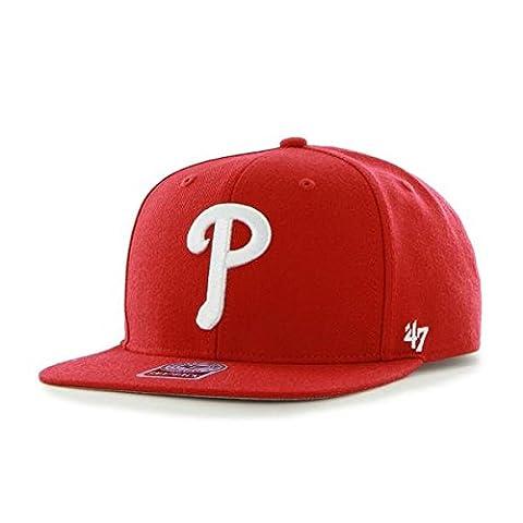 47 Unisex MLB Philidelphia Phillies Sure Shot Captain Baseball Cap,