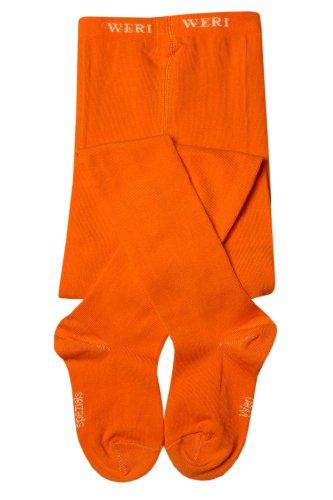 Weri Spezials Baby Strumpfhose in Mandarine Gr. 74 (9-12 Monate) UNI - Gute Uni Kostüm
