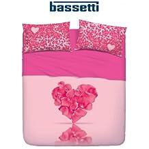 Bassetti-Juego de Sábana Bassetti Individual A Is Love Passion