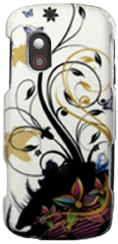 Maxtron Samsung SGH-T401G Net10 TracFone Straight Talk Snap on Hard Case Cover Tree - Carrying Case - Non-Retail Packaging - Tree
