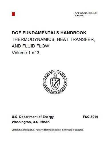 Doe Fundamentals Handbook: Thermodynamics, Heat Transfer, And Fluid Flow Fundamentals Handbook: 1992 por U.s. Department Of Energy epub