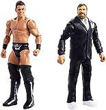WWE Pack de 2 figuras básicas con accesorios, The Miz y Daniel Bryan, wwe figuras (Mattel FMF67)