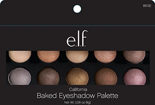 e.l.f. Baked Eyeshadow palette, California