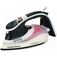 Morphy Richards ComfiGrip 301017 2400 Watt Ionic Steam Iron - Charcoal/Orange