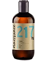 Naissance Cold Pressed Castor Oil (no. 217) 250ml - Pure, Unrefined, Vegan, Hexane Free, No GMO