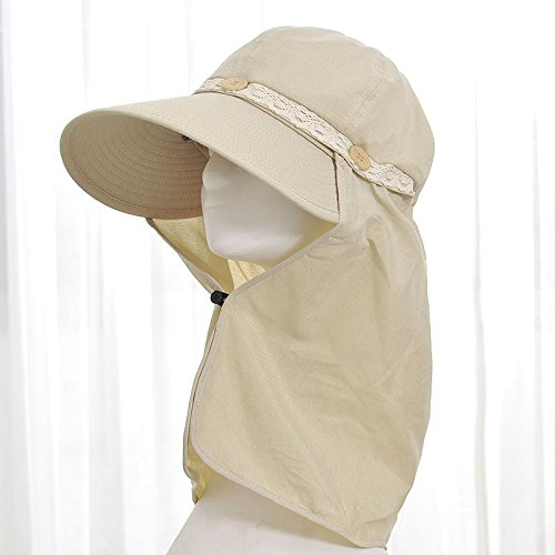 LLZTYM Women/Summer/Uv/Suncap/Suncap/Sunscreen/Shade/Shade/Outdoor/Beach Cap/Headwear/Gift/Hat Beige