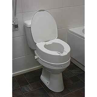 Aquarius Drive DeVilbiss Healthcare Raised Toilet Seat with Lid 6
