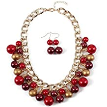 d5ec3714d1bd Collares Rojos - Amazon.es
