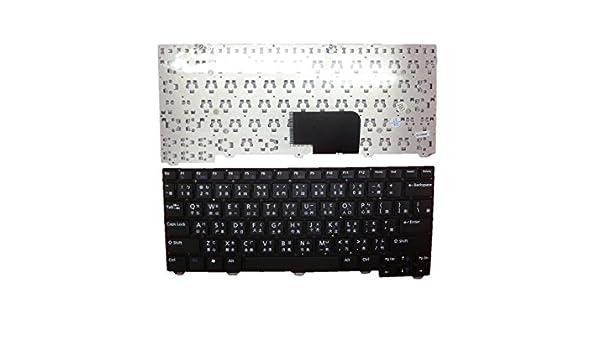 Clavier d'Ordinateur Portable pour Dell 2120 Noir sans cadre