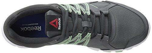 Reebok Yourflex Trainette 8.0l Mt Chaussure d'entraînement ALLOY-COAL-SEAFOAM-WHITE