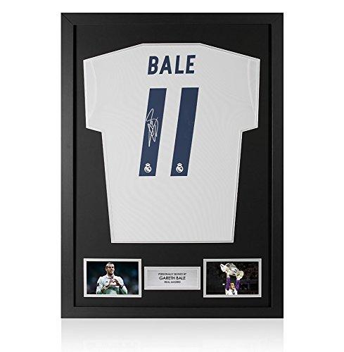 Framed Gareth Bale Signed Real Madrid Shirt 2016-2017 - Number 11