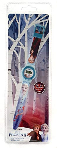 Frozen Reloj Digital ke02 2 Pulsera, Adultos Unisex, Multicolor, Unico