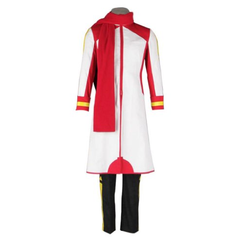Cosplay Akaito Kostüm - Dream2Reality Vocaloid Family Cosplay Kostuem - AKAITO 1st Ver White Kid Size Large