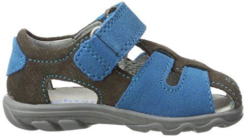 Richter Kinderschuhe Terrino, Chaussures Marche Bébé Garçon Grau (pebble/caribic)