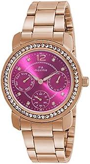 Maxima Analog Purple Dial Women's Watch-O-52952