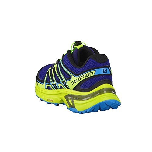Salomon Homme Wings Flyte 2 Chaussures de Course à Pied et Trail Running, Synthétique/Textile Bleu (Blue Depths/lime Green/hawaiian Sur)