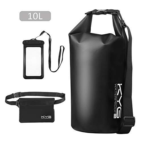 Premium bolsa estanca 10L impermeable seca PVC- Set de bolsa...