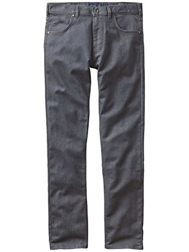 Herren Jeans Hose Patagonia Performance Straight Fit Jeans Forge Grey