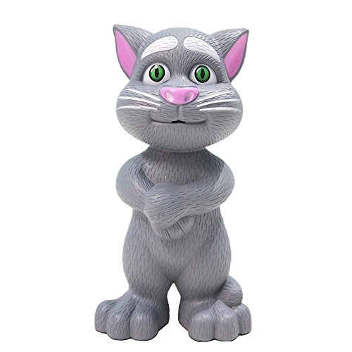 Toykart Talking Cat with Stories and Songs, Touch Functions