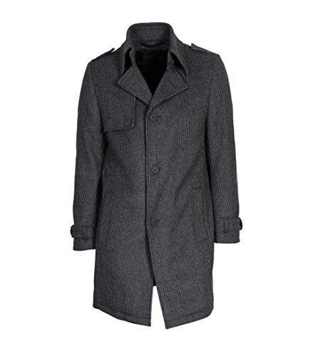 drykorn herren mantel Drykorn Herren Wollmantel Skopje grau Gemustert 6 grau 52
