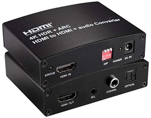 Premium Cord HDMI2.0A Repeater/Extender 4kx2k @ 60Hz Audio Extractor Unterstützt 4K HDMI Premium Cord