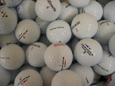 50 Assorted Pinnacle AAA Grade Golf Balls by Lakeballs