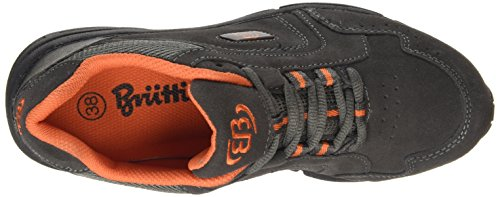 Bruetting  Circle, Chaussures de marche femmes Gris - Grau (anthrazit/orange)