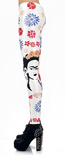 THENICE Damen Sexy Elastic Strumpfhosen Leggings Printing category