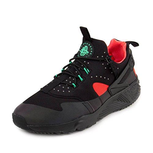 Nike Herren Air Huarache Utility Prm Laufschuhe, Schwarz /Orange