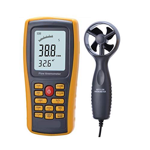 YBYBYB Anemometer Elektronisches Windmesser Handheld-Split Anemometer Hochpräzise Messung Geeignet Zum Surfen Segelboot Angeln Kite Klettern