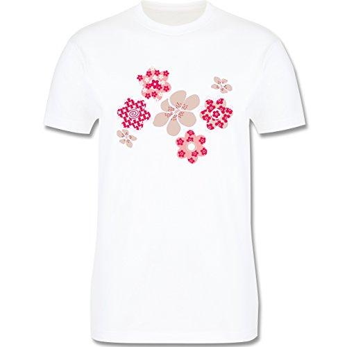 Blumen & Pflanzen - Blumen - Herren Premium T-Shirt Weiß